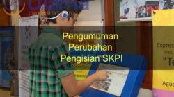 Pengumuman Perubahan Pengisian SKPI