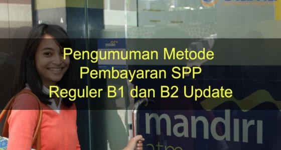 Pengumuman Metode Pembayaran SPP Update