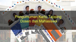 Pengumuman Kartu Tapping Dosen dan Mahasiswa