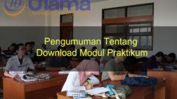 Pengumuman Tentang Download Modul Praktikum