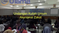 Undangan Kuliah Umum Akuntansi Zakat