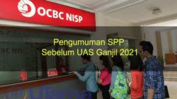 Pengumuman SPP sebelum UAS Ganjil 2021