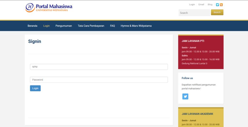 Aktivasi Portal Mahasiswa 4