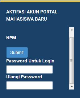 Portal Mahasiswa - Universitas Widyatama
